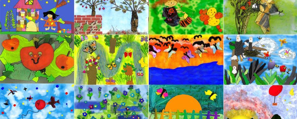 Kinder als junge Künstler aktiv  Das Kinderkreativprojekt ...